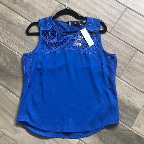 Brixon Ivy Tops - Cobalt Blue Blouse